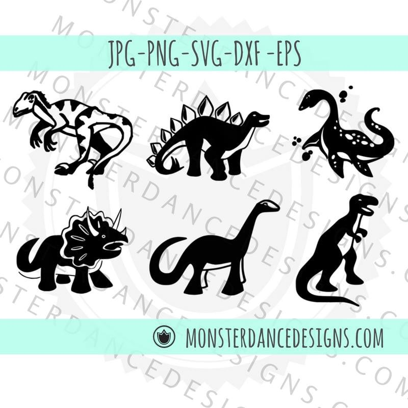 photograph relating to Printable Clipart known as Dinosaur SVG Printable Clipart Electronic Cricut Silhouette Lower Document Stencil  Dinosaur Decal Dinosaur Birthday Get together Invitation Dino