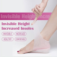 Invisible Height Increasing Insoles