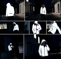 WeTech™  Ultralight Reflective & Reversible Jacket
