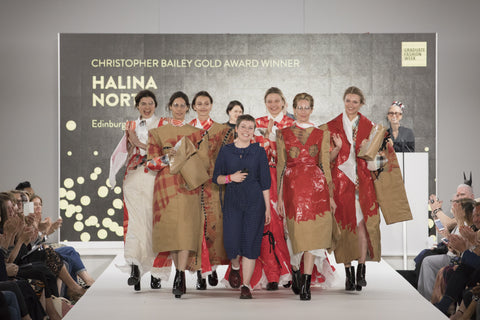 Christopher Bailey Gold Award: Halina North of Edinburgh College of Art