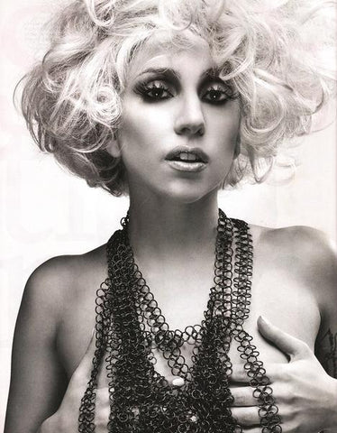 Lady Gaga in Fannie Schiavoni harness