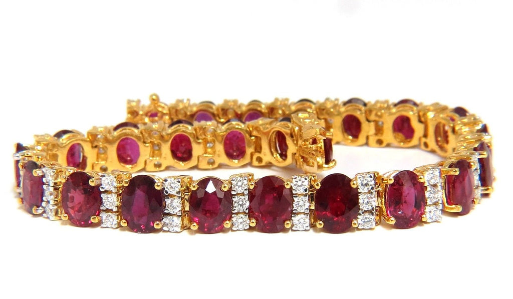 box metal length bracelets color karat ruby stone images type gold pinterest best shape oval over yellow clasp silver x red on size bracelet vermeil