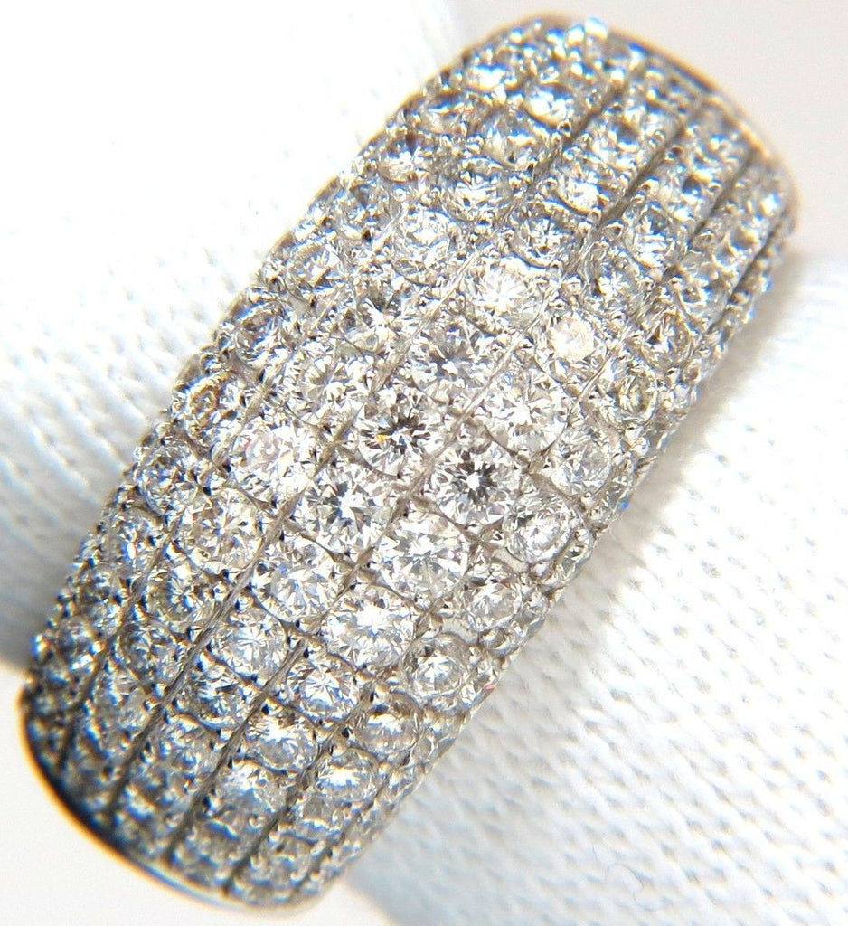 size ring full cut band bead diamond diamonds products wide set