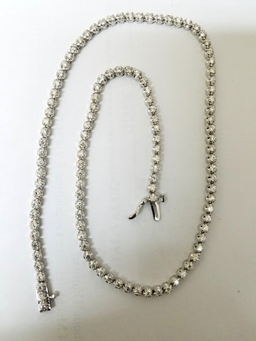5.75ct Natural Diamonds Necklace