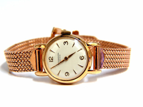 14kt IWC Ladies gold watch 14kt Vintage