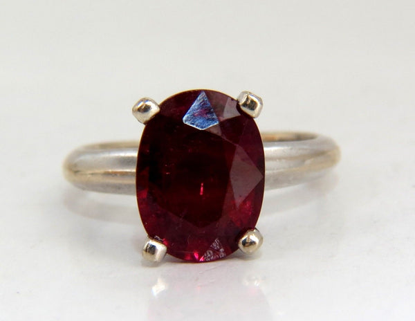 2.65ct Natural Tourmaline Solitaire Ring 14kt