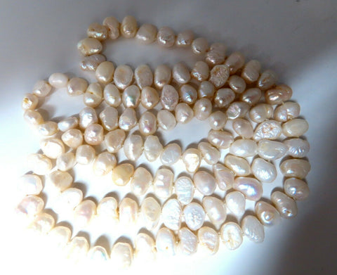 12mm Natural Freshwater Endless Necklace 36inch