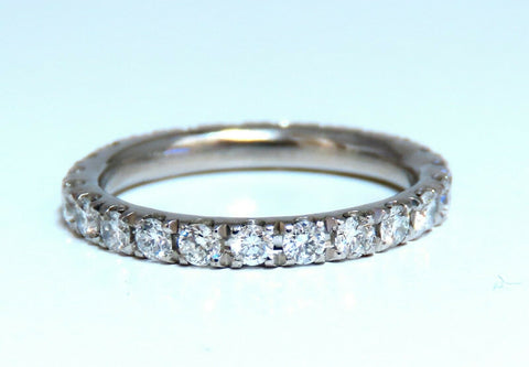.92ct Natural Round Diamonds Eternity Ring Sharing Prong