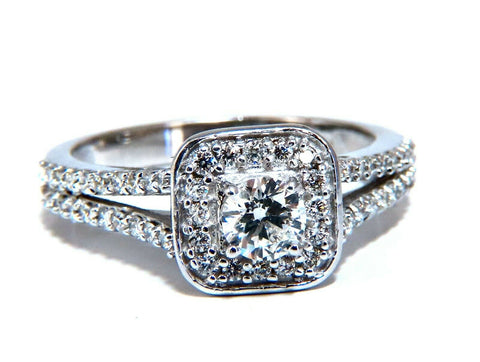.95ct Natural Diamonds Split Shank Mod Ring 14kt