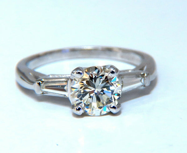 GIA Certified 1.01ct L/VS1 Diamond Engagement Ring Platinum Prime