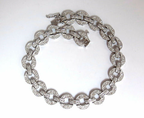 .70ct Diamonds Circles Bracelet