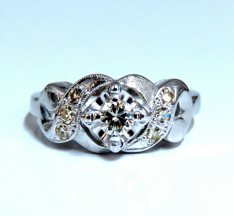 .45ct Vintage Revival Natural Diamonds Ring 14 Karat