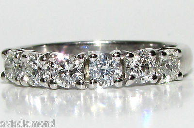 1.00 ROUND CUT DIAMONDS BAND RING MODERN A+ G/VS