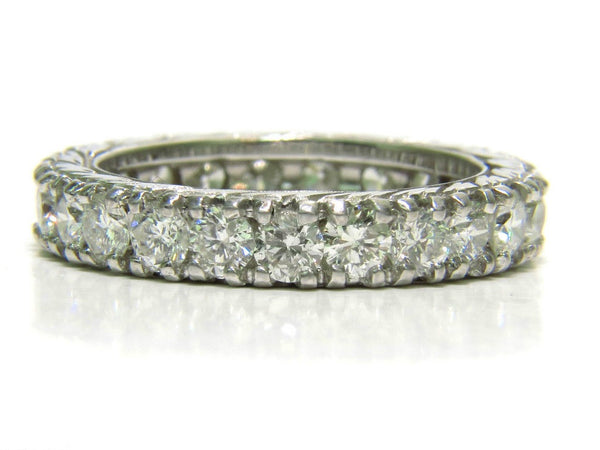 2.46CT DIAMONDS ETERNITY BAND & KISSING 14KT