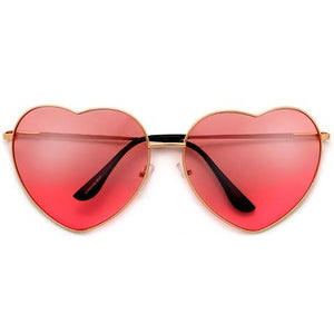 Heart shaped sunglasses.......