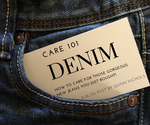 Denim Care 101