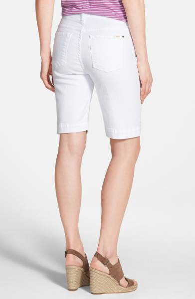 Bermuda Short White Denim