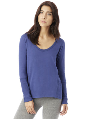 Rib Sleeve T-Shirt