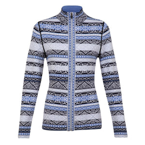 Astrid Full Zip Sweater