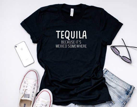 The Little Poppy Shop - Small Tequila Shirt
