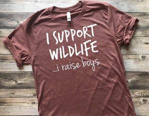 The Little Poppy Shop - Large Support Wildlife Shirt
