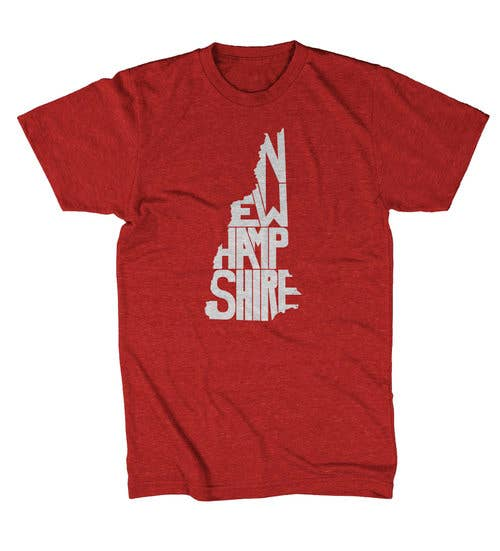 New Hampshire Shirt - Red