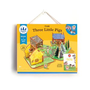 The Three Little Pigs Book and Play Set