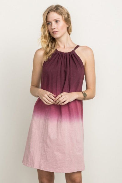 Triple Dip Dyed Tunic Dress