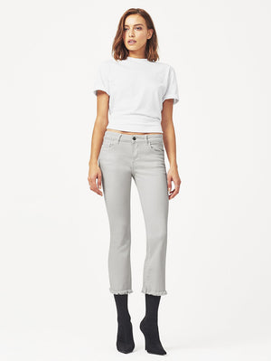 Lara Cropped Flare - Bone