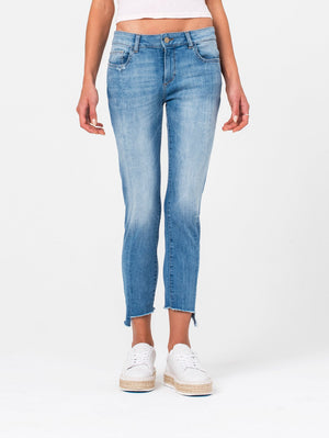 Florence Crop Mid Rise Skinny - New Town