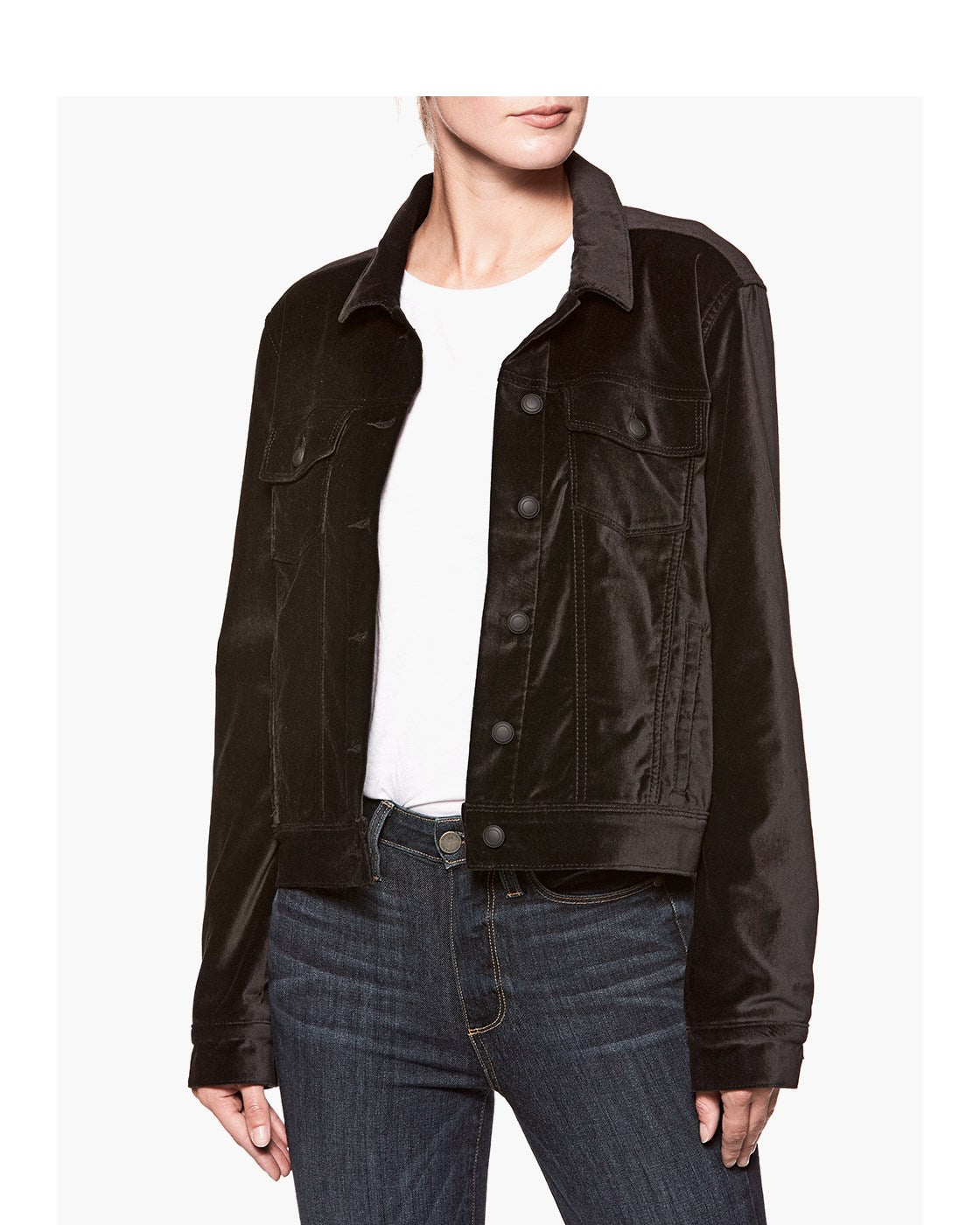 Rowan Jacket - Black Velvet