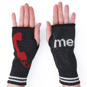 Call Me Hand Warmer - Black