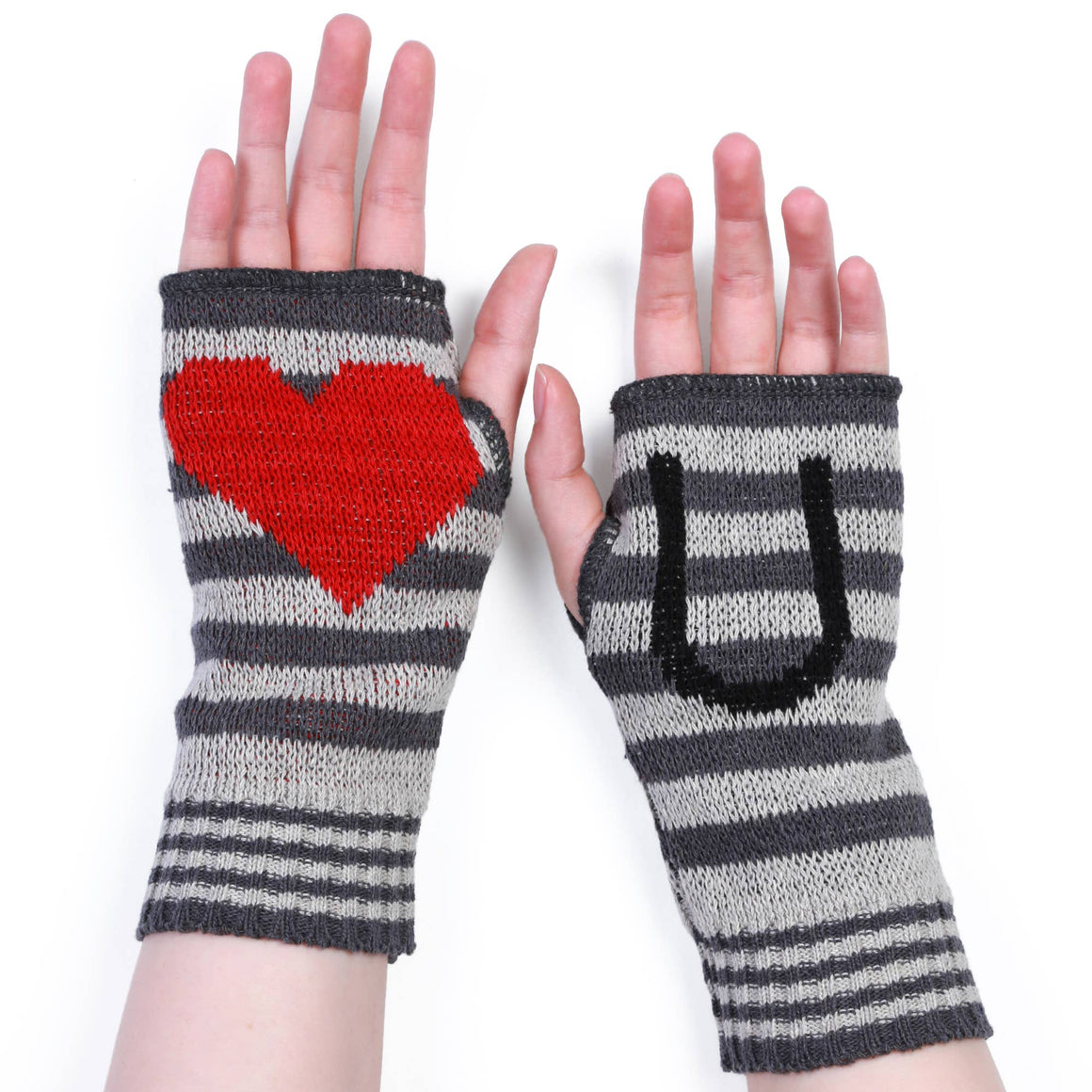 Love U Hand Warmer - Grey