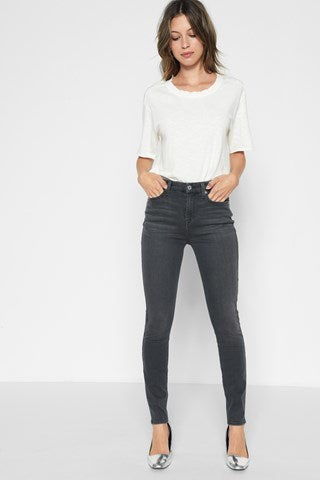 High Waist Ankle Skinny