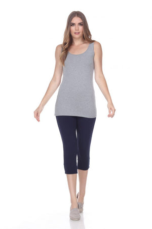 Wear Two Ways Sunburst Tank - Grey