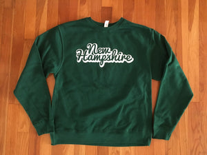 New Hampshire Green Crew Neck