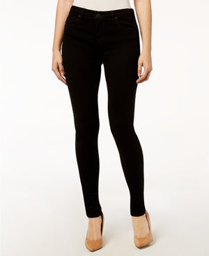 Mia High Waist Skinny - Black