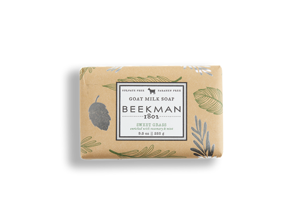 Sweet Grass Goat's Milk Soap