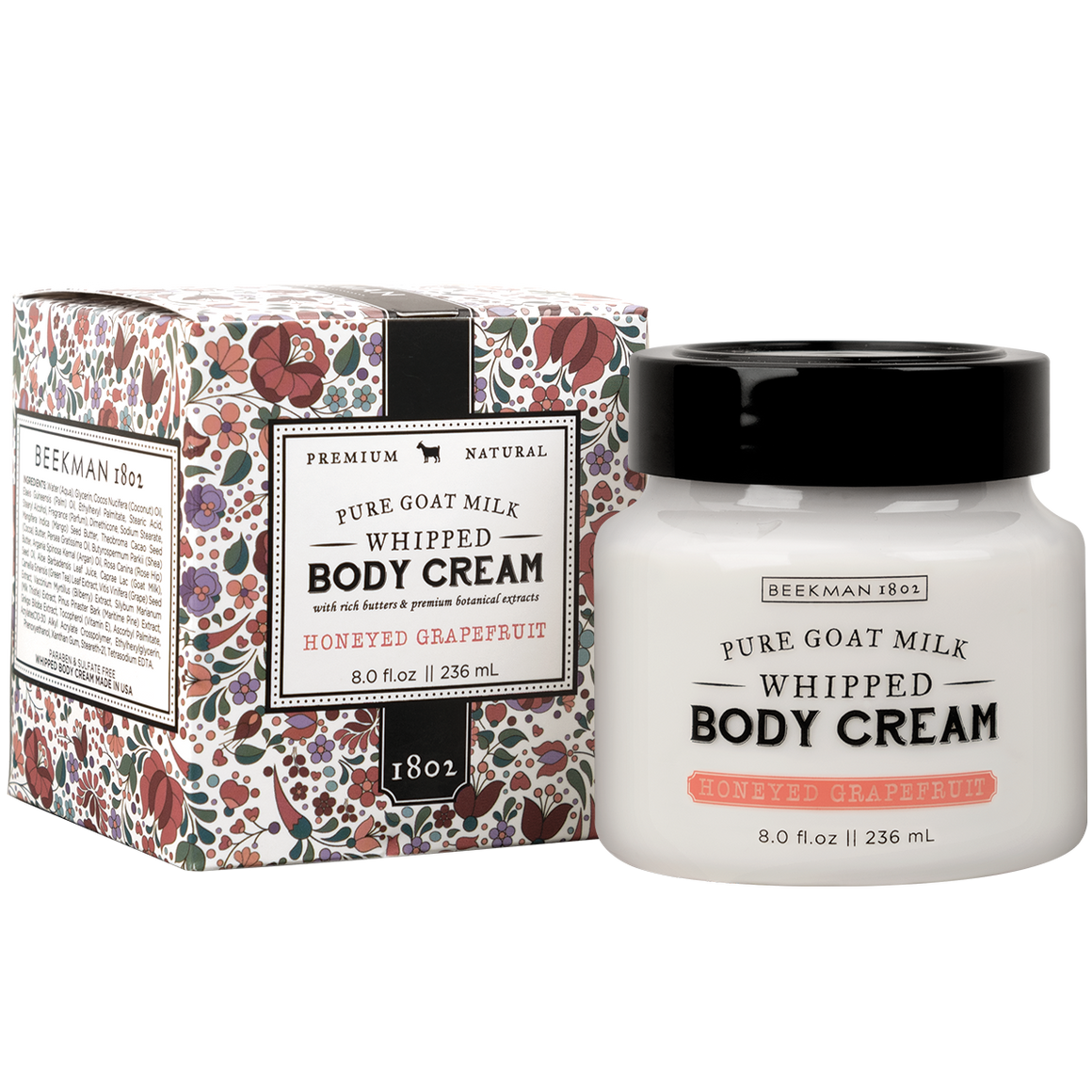 Honeyed Grapefruit Whipped Body Cream 8.0oz