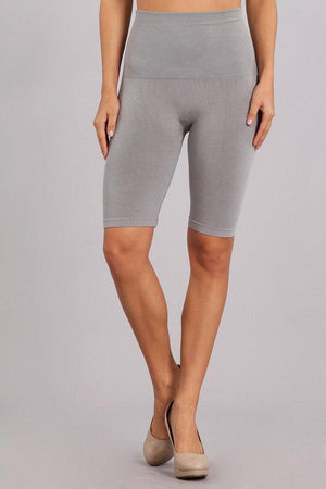 Tummy Tuck High Waist Mid Thigh Leggings