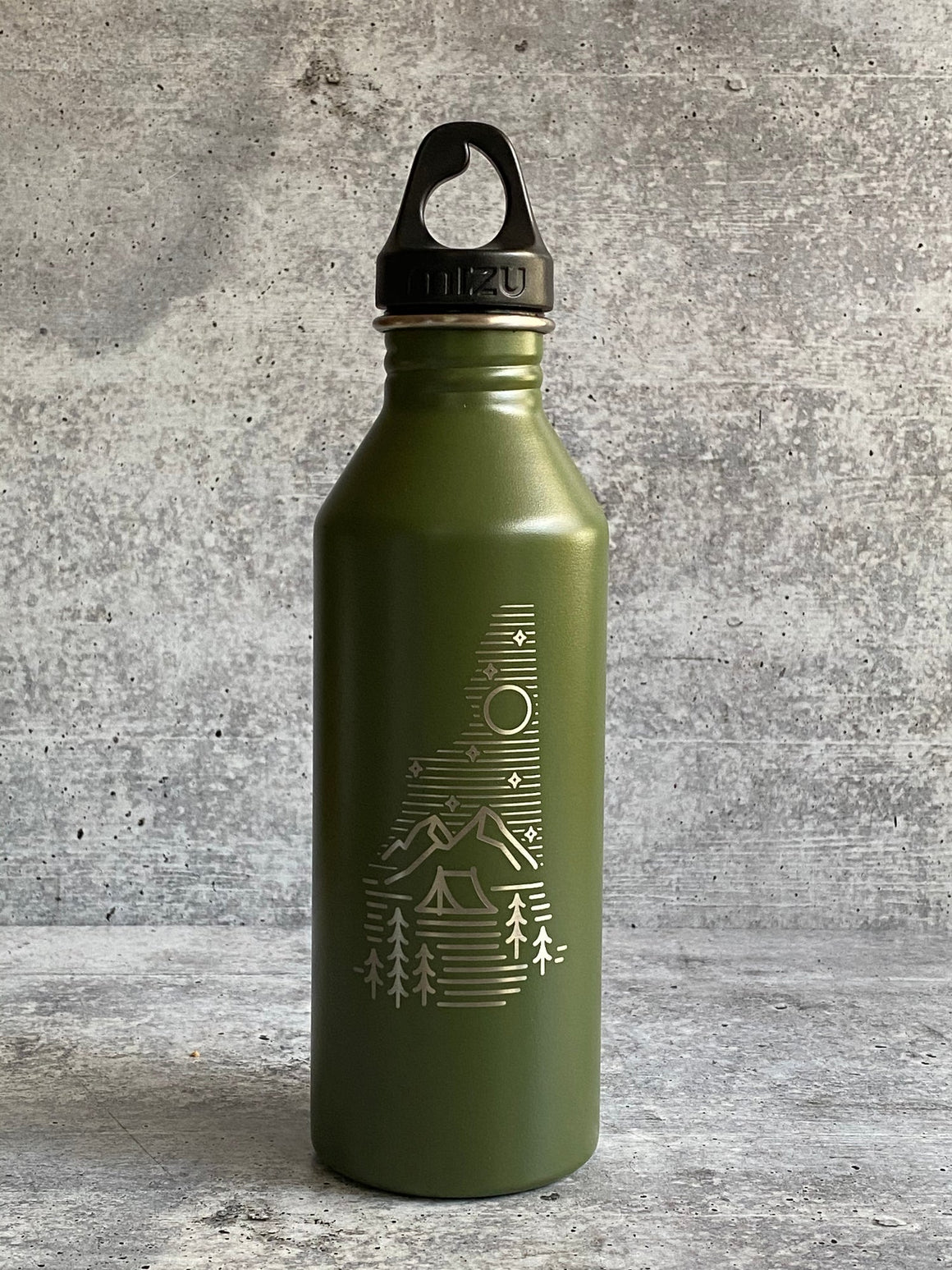 NH Camping Logo Water Bottle