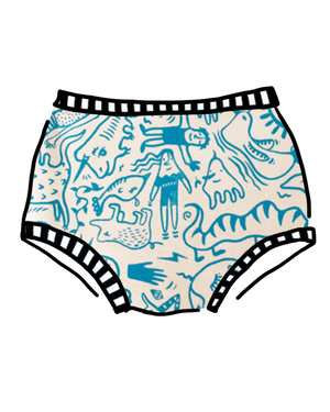 Women's Original Doodly Blue