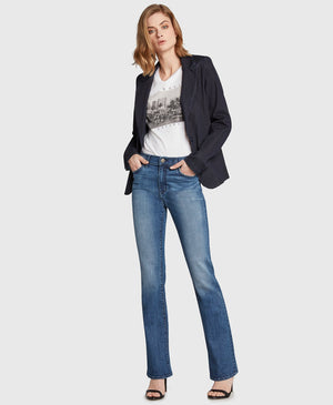 Crush High Rise Bootcut in Wild at Heart Wash