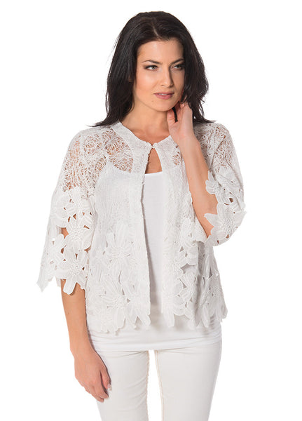 Lace Edged Jacket