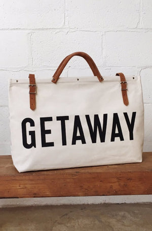 GET AWAY Canvas Utility Bag