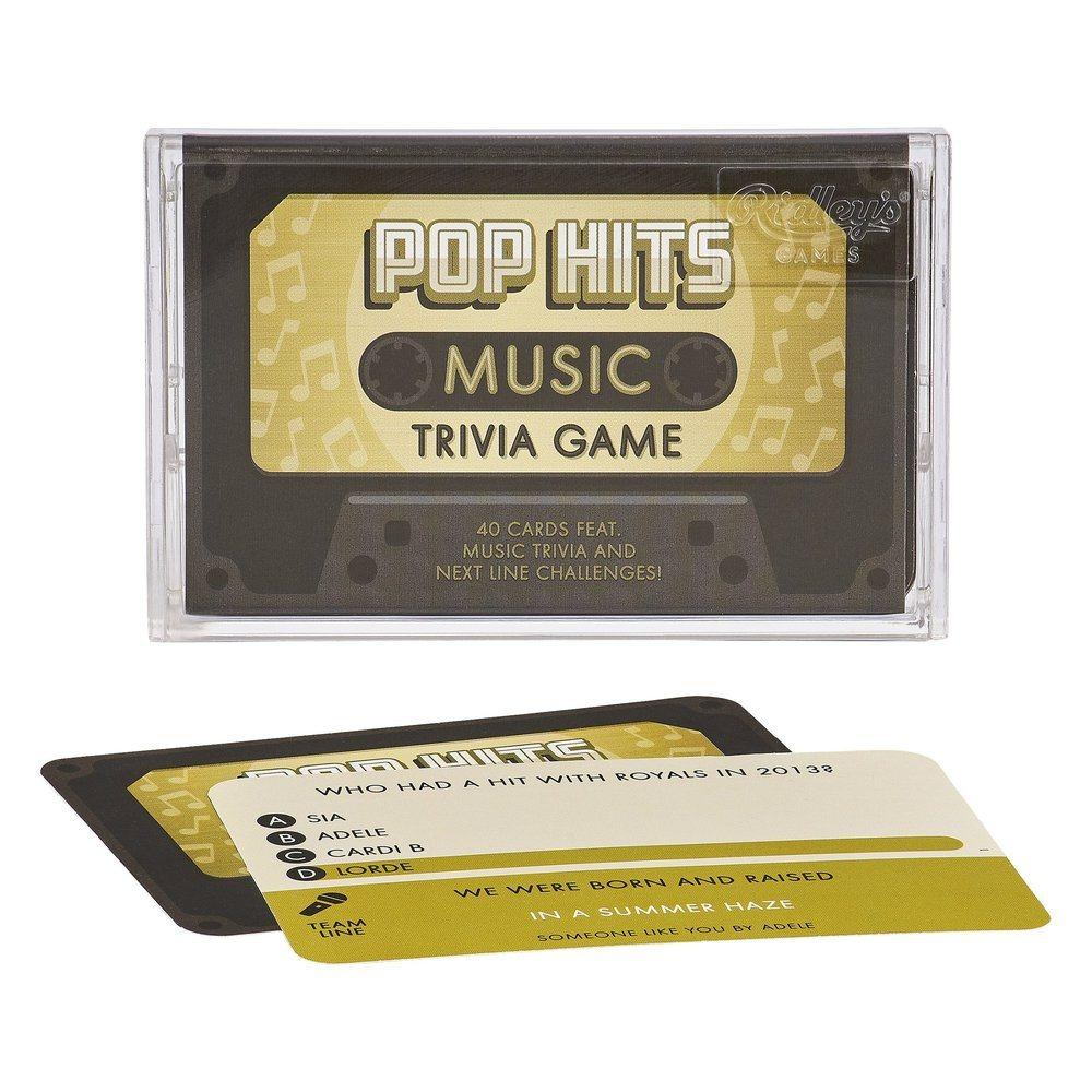 Pop Hits Trivia Cards