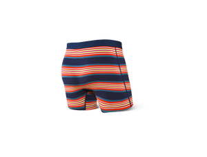 Ultra Men's Boxer Brief - Navy Banner Stripe