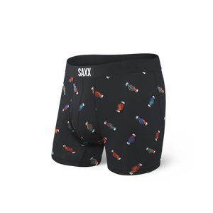 Ultra Men's Boxer Brief - Black Shake It Out