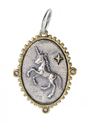 Lyric & Lore Charm - Open to Wonder Unicorn