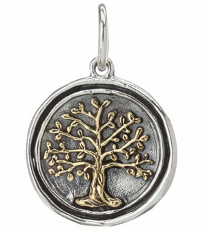 Wing and a Prayer - Tree of Life Charm